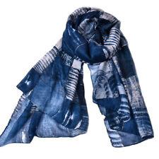 Fashion Women Long Cotton Scarf Wrap Ladies Shawl Girls Large Silk Scarves New