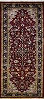 Rugstc 2x6 Senneh Pak Persian Red Runner Rug, Hand-Knotted,Traditional,Wool