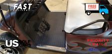 EZ-GO TXT 1996 to Current Golf Cart Black Rubber Diamond Plate Floor Mat NEW!!!!