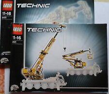 LEGO Technic 8421 gru CARRELLO con recipe SENZA MOTORE