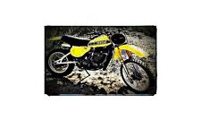 1978 yz400 Bike Motorcycle A4 Retro Metal Sign Aluminium