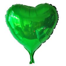 "5Pcs 10-18"" Quality Foil Balloons Metallic Heart Shape Wedding Party Home Decor"