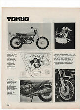 Pubblicità 1971 MOTO MOTOR YAMAHA GL 750 TOKYO old advertising werbung publicitè