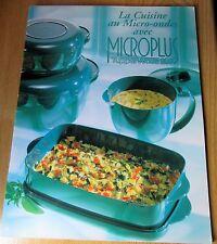 Livre Recettes TUPPERWARE La cuisine au Micro-ondes avec MICROPLUS Tupperwave200