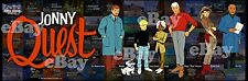 NEW! EXTRA LARGE! JONNY QUEST Panoramic Photo Print HANNA BARBERA Studios