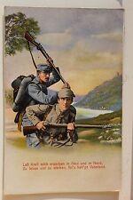 26761 AK Militär Lass Kraft mich erwerben in Herz und in Hand, 1. WK 1915 WW1 PC