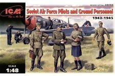 ICM 48084 1/48 Soviet Airforce Pilot & Ground Personel 1939 – 1945