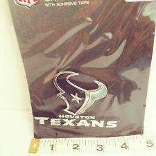 NFL Football Houston Texans Chrome Team Emblem Ornament