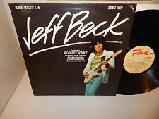THE BEST OF JEFF BECK (1967-69) featuring Rod Stewart Ron Wood UK FAME LP NM+