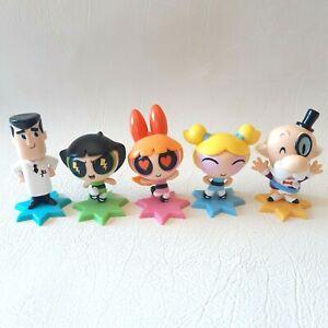 Powerpuff Girls Mini Figure Series 2. Set of 5 x Figures. Brand New & Sealed