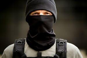 Black Russian army Neck Gaiter Scarf Face Mask Balaclava
