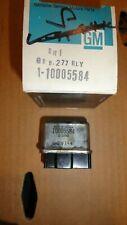 NOS 1980-81 BUICK CHEVROLET OLDSMOBILE PONTIAC A/C HI BLOWER RELAY 10005584