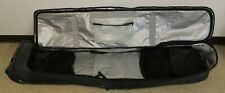 2 Snowboard Bag Storage Travel Carrying Case Large Big Padding Suit Case Rollers