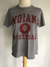 Indiana Hoosiers Basketball Original Vintage 90's Women's T-Shirt by Bike Medium