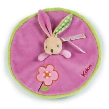 Brand New Kaloo Colors Doudou Rabbit Flower Security Blanket Soft Toy Comforter