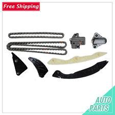 Timing Chain Kit Fit 06-12 Hyundai Sonata Tucson Kia Optima Rondo 2.4L w/o Gears