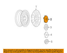 Buick GM OEM 05-09 LaCrosse Wheels-Center Cap 9594716