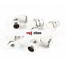 5 Pcs Pneumatic 6mm to 1/4
