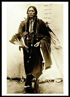 ⫸ 960 Postcard – Quanah Parker, Comanche Warrior & Chief 1890 Photo – NEW