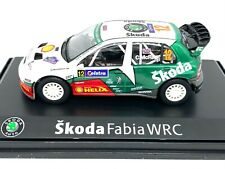 1:43 Scale Abrex Skoda Fabia WRC Rally Car - Colin McRae Australia 2005 Rally