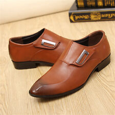 New Men's Business Casual Oxfords Leather shoes Dress Formal Party Prom wedding