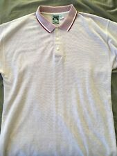55b1e0132dd Vintage Mens McIntosh & Seymour Oregon Soccer Gear And Rugby Polo Tee Red  ...