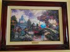 Thomas Kinkade - Disney Cinderella Wishes Upon A Dream - S/P Canvas # 31/ 40