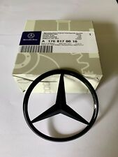 Mercedes-Benz A CLA Class Rear Boot Lid Badge Star - GLOSS BLACK A1768170016 UK