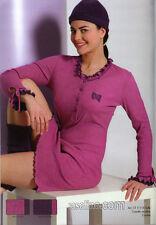 Camicia da notte Serafino Donna Ragazza Tg. 46 Costina Strass Fuxia C.t.versace
