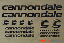 PEGATINA STICKER VINILO Cannondale kit bicicleta bike