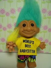 "World'S Best Babysitter - 5"" Russ Troll Doll - New In Original Wrapper"