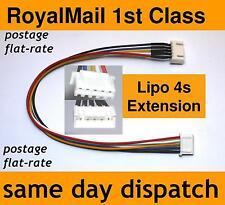 Lipo Balance Extension Charger Cable Lead 4s JST-XH (4 cell, 14.8V) for charging