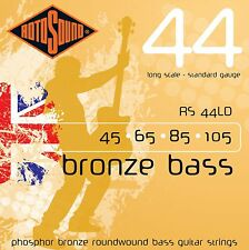 ROTOSOUND RS44LD BRONZE ROUNDWOUND 4 STRING ACOUSTIC BASS GUITAR STRINGS 1 PACK