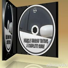 CAR WINDOW TINTING EASY STEP BY STEP GUIDE HOW TO TINT CAR CARAVAN GLASS NEW DVD