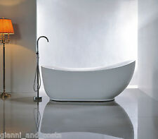 Bathroom Acrylic Standing 18 Jet Spa Bath Tub 1800 X 890 X 760 Model Helio