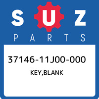 37146-11J00-000 Suzuki Key,blank 3714611J00000, New Genuine OEM Part