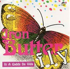 "IRON BUTTERFLY ""IN A GADDA DA VIDA"" RARE UNOFFICIAL GERMAN CD / INGLE - DORMAN"