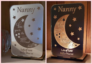 Personalised Tea Light Candle Holder Gifts for Her Mummy Nan Father's Day Gift