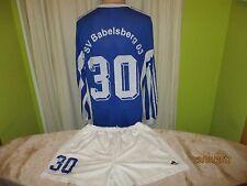 "SV babelsberg 03 adidas manga larga matchworn camiseta set ""vivir leg"" + nº 30 talla L"