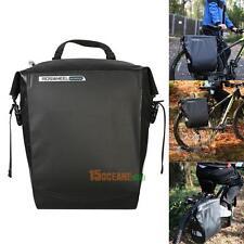 20L Bike Bag Bicycle Rack Cycling Rear Seat Pannier Waterproof PVC Trunk Pounch