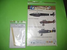FIAT CR 32 NIGHT & DECALS BY OWL 1/48 SCALE - KOMBO SET