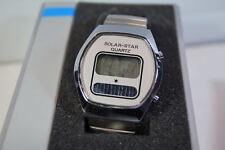 SOLAR STAR quartz LCD vintage watch