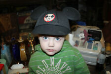Vintage Mickey Mouse Ears Snapback Child's Hat Small Goofy Hat Company Black