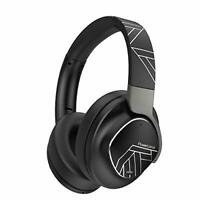 PowerLocus Active Noise Cancelling Headphones - Bluetooth Over-Ear Headset