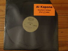 "AL KAPONE SOUTHERN G-SOUL (FULL OF INDO) 12"" SEALED PROMO (VINYL SINGLE RAP)"