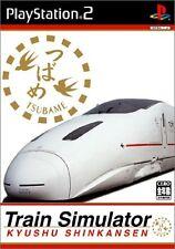 Used PS2 Train Simulator Kyushu Shinkansen Import Japan