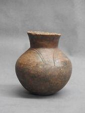 Ancien pot en terre cuite - Afrique -  XXe siècle - Gabon - ART TRIBAL AFRICAIN