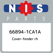 66894-1CA1A Nissan Cover-fender rh 668941CA1A, New Genuine OEM Part