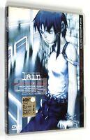 DVD SERIAL EXPERIMENTS LAIN LIF.01 (Ep. 01-02) Dynamic 2001 Anime