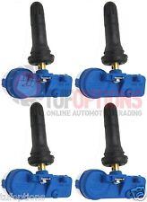 SET OF 4 HSV VE E2 VF WM WN TPMS Tyre Pressure Inflation Monitor Sensors Valves